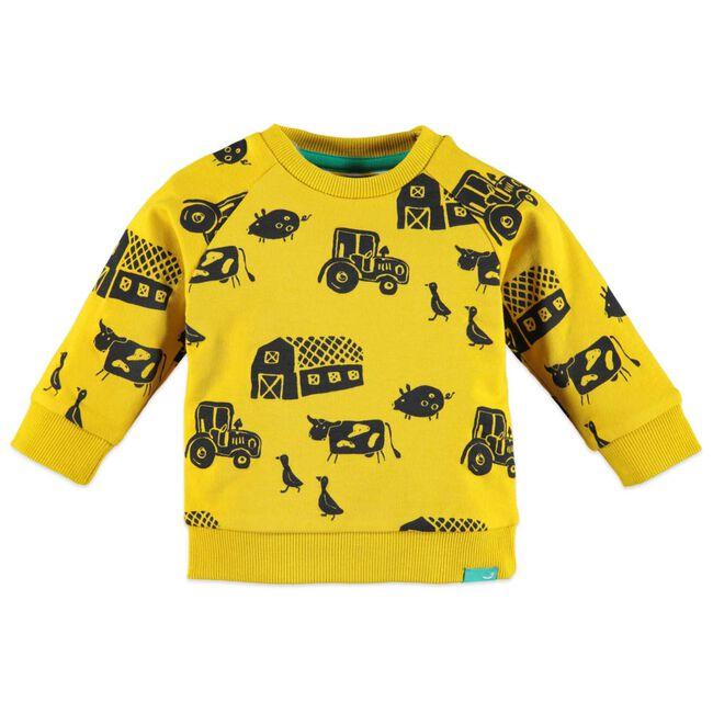 Babyface jongens sweater - Yellow