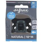 Difrax 18+mnd fopspeen Pure - Dark Blue