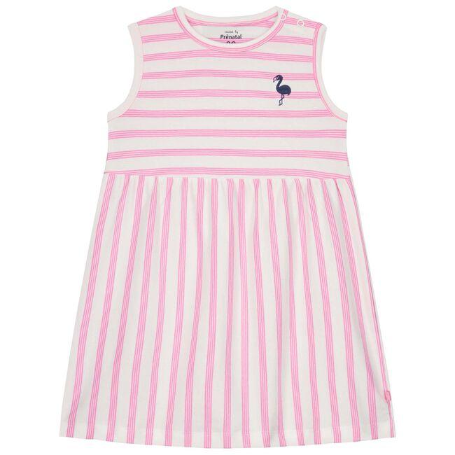 Prenatal peuter meisjes jurk - Light Fuchsiared