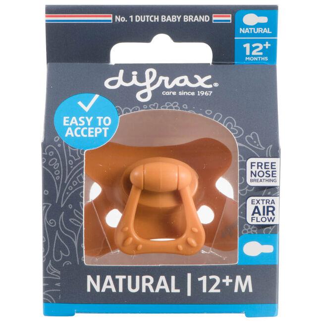Difrax 12+mnd fopspeen Pure - Orange