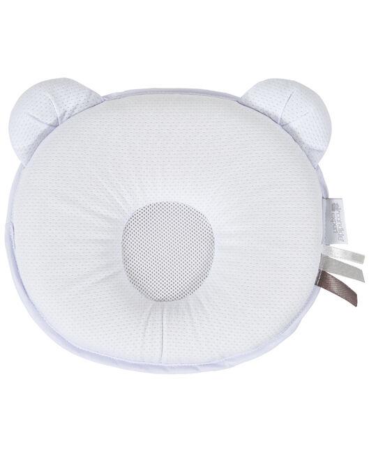 Candide P'tit Panda air hoofdkussen - White