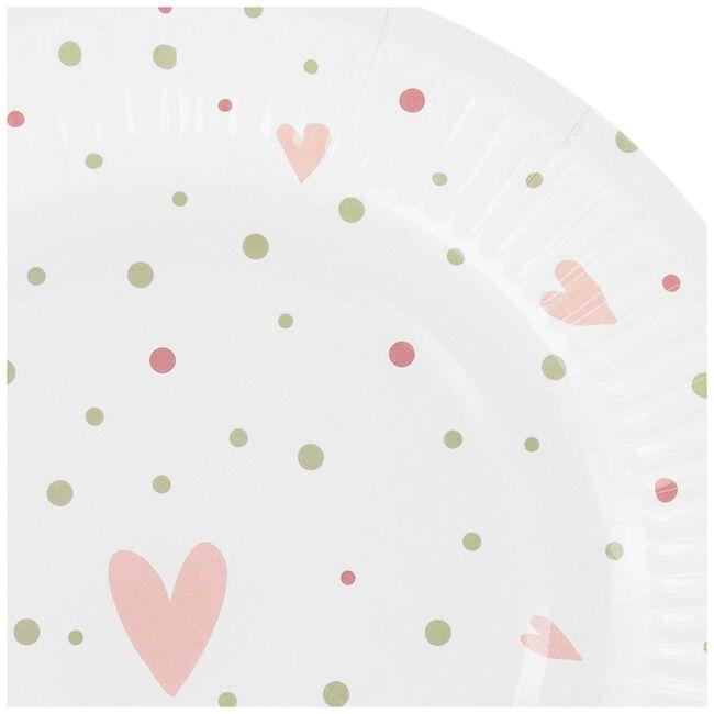 Prénatal bordjes roze - Pink