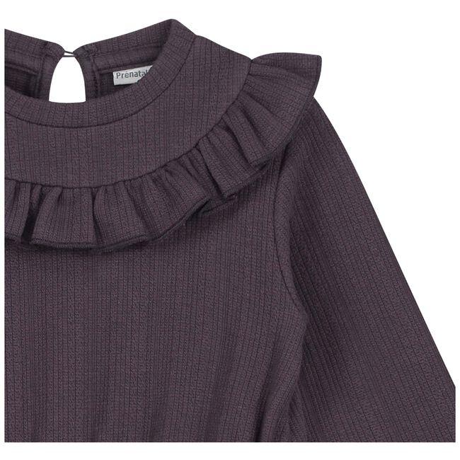 Prénatal peuter meisjes jurk - Dark Plum
