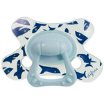 Difrax fopspeen dental 18 maanden - Blue