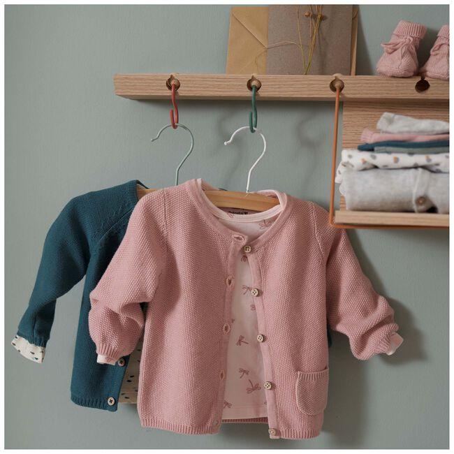 Prénatal newborn meisjes shirtje - Light Coral Pink