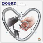 Dooky haak hart - Silver