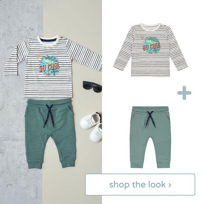 Shop the look - shirt en broek -