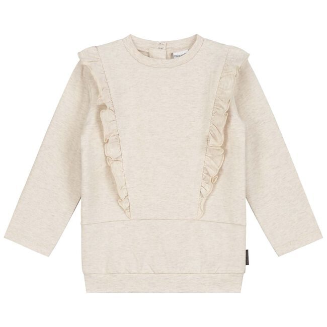 Prénatal baby meisjes t-shirt - Light Brown Melange