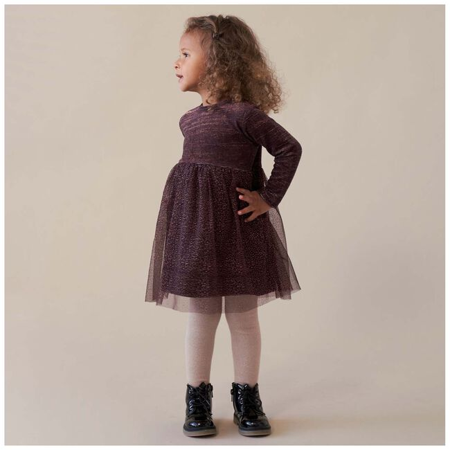 Prénatal peuter meisjes jurk - Grape Purple