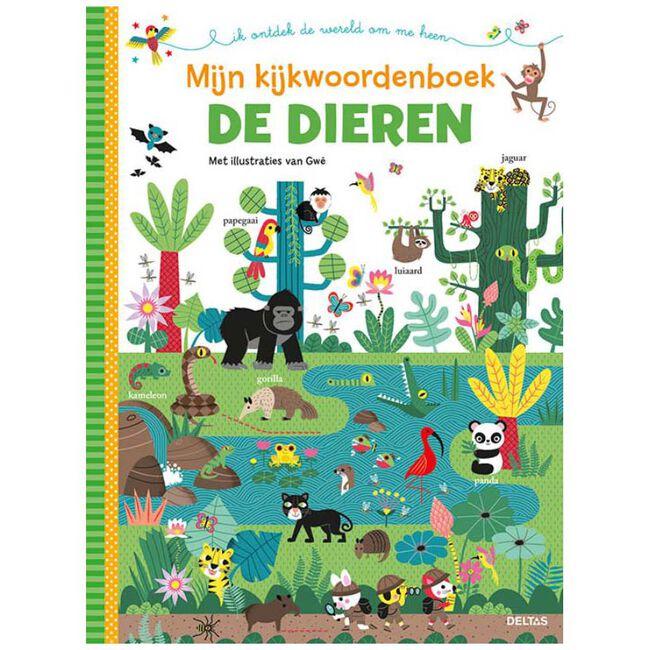Mijn kijkwoordenboek de dieren - Multi