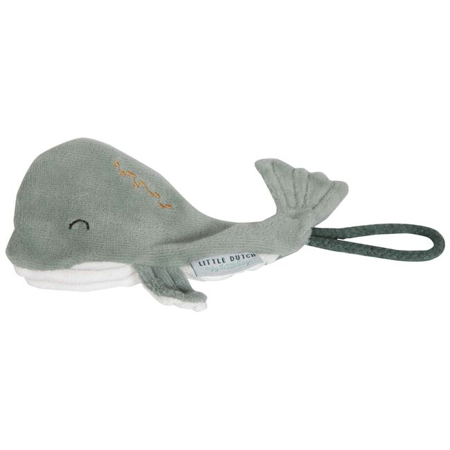 Little Dutch speenkoord walvis - Dark Mint Green