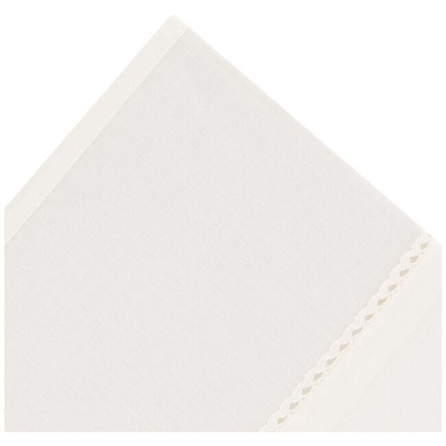 Prénatal ledikantlaken - Dark Off-White