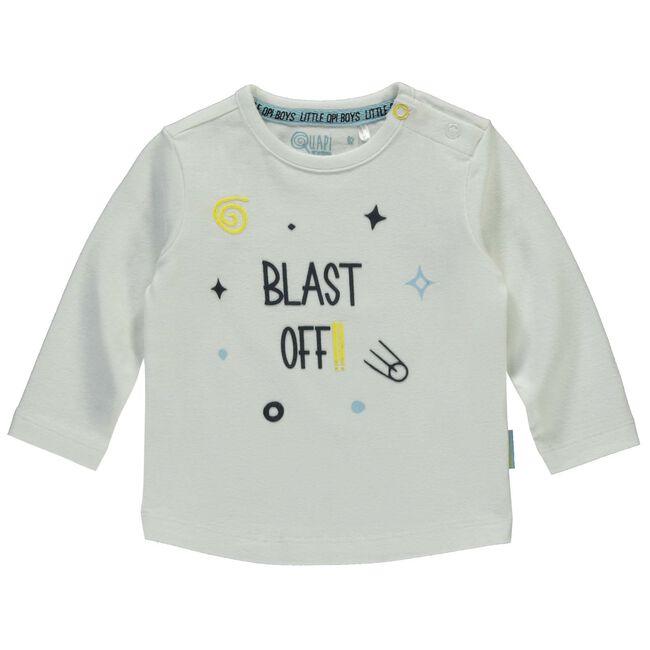 Quapi baby jongens t-shirt - White