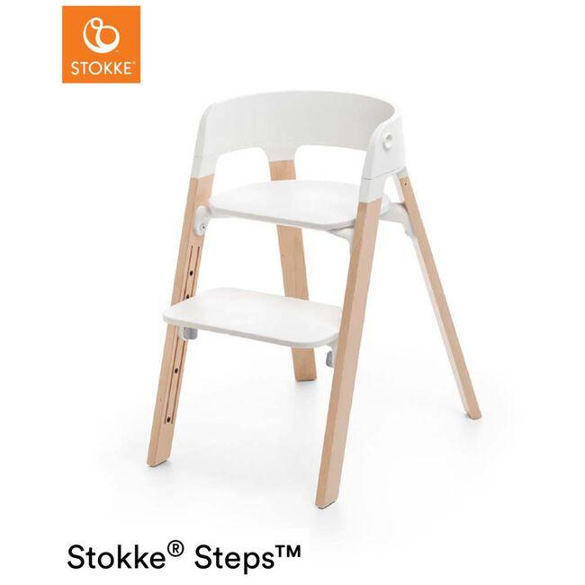 Stokke Steps kinderstoel bundel - Onbehandeld/Naturel