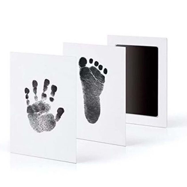 Prénatal inktset afdruk hand-voet - White