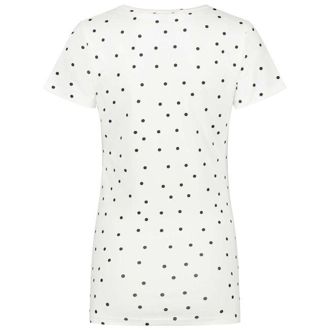 Prénatal zwangerschaps T-shirt - Ivoor Wit