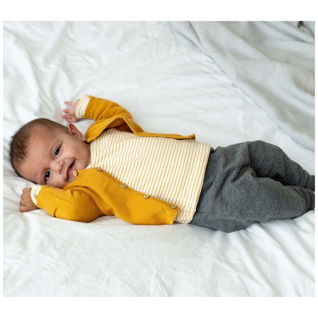 Prenatal newborn unisex vest - Darkyellow