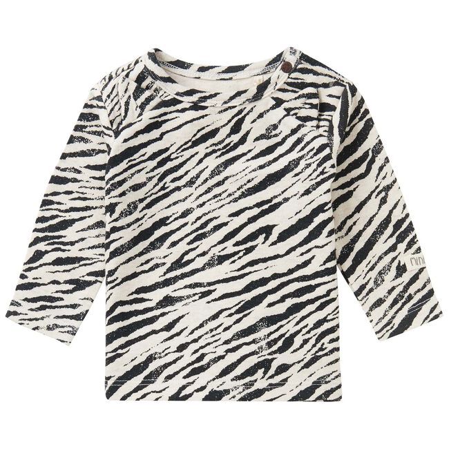 Noppies unisex t-shirt - Ecru