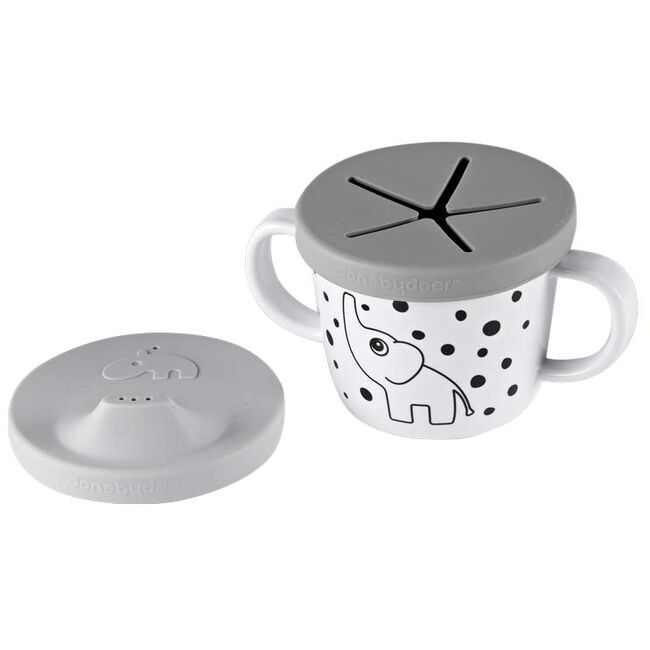 Done By Deer Tuit/snack cup - Grey