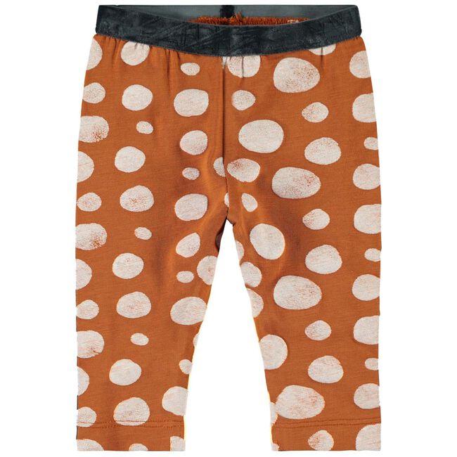 Name it baby meisjes legging - Orange Shade