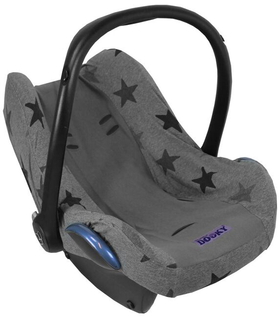 Dooky seatcover 0+ - Grey Stars