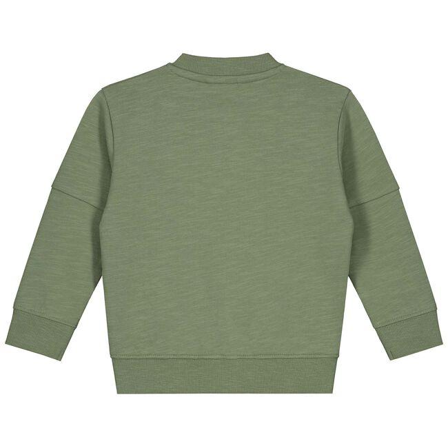 Prénatal baby jongens vest - Light Khaki Green