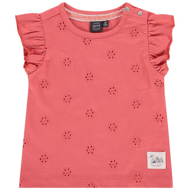 Babyface peuter T-shirt - Coral Pink