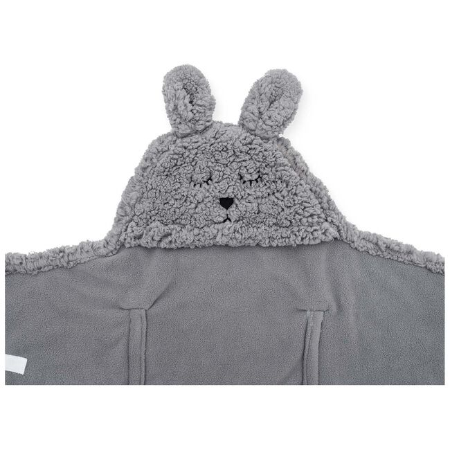 Jollein wikkeldeken Bunny - Grey