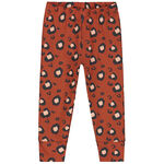 Prenatal meisjes peuter pyjama - Dark Orange Bown