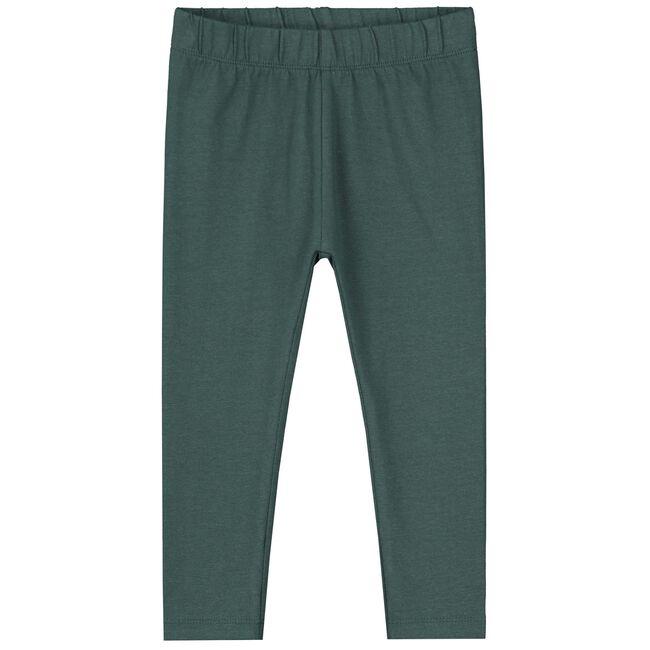 Prénatal peuter meisjes legging - Dark Green Blue