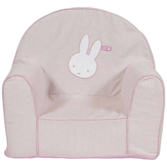 Tiamo fauteuiltje Nijntje streep - Pink
