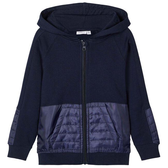 Name it peuter jongens vest - Dark Blue