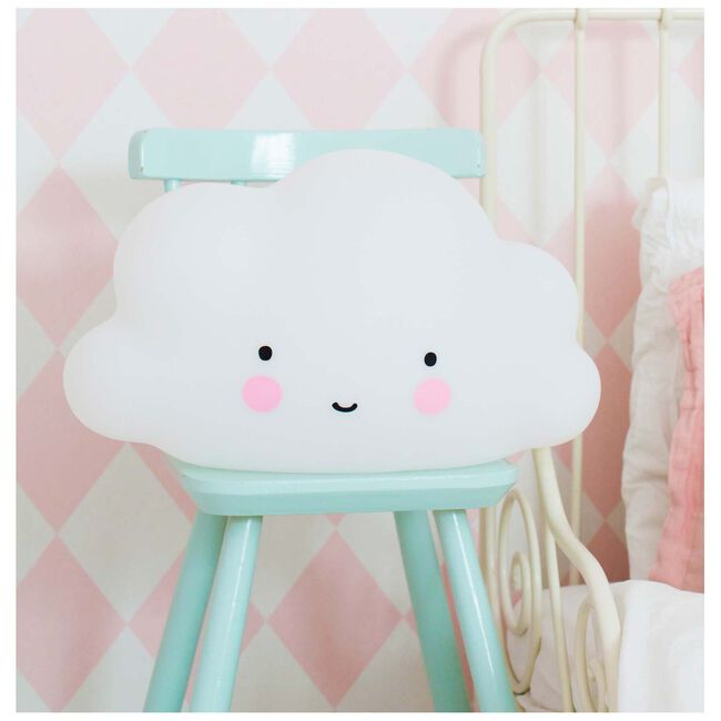 a Little Lovely Company grote lamp wolk -