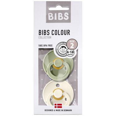 Bibs fopspeentje Size 2 - Sage/Ivory