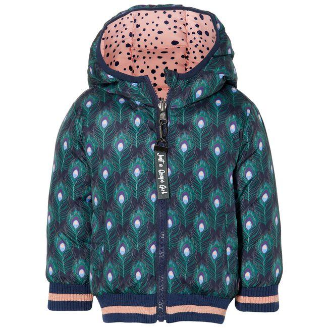 Quapi peuter meisjes jas - Midgreen