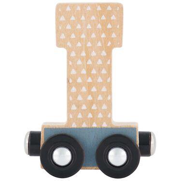 Prénatal houten namentrein letter I -