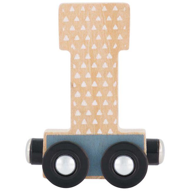 Prénatal houten namentrein letter I - Multi