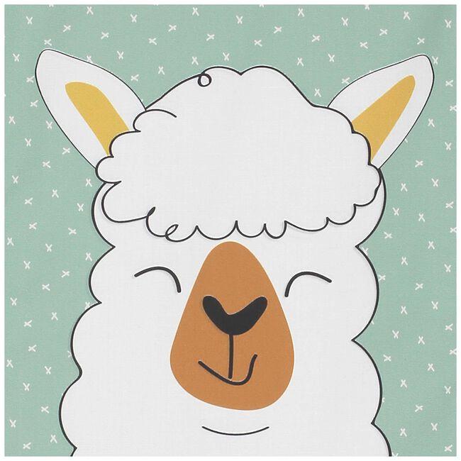 Prénatal poster Lama - Palegreen