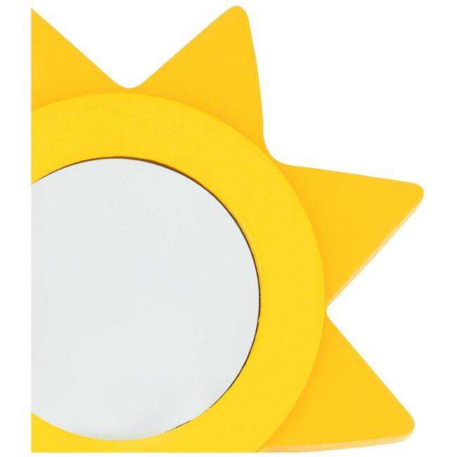Prénatal kapstokhaakje zon met spiegel -