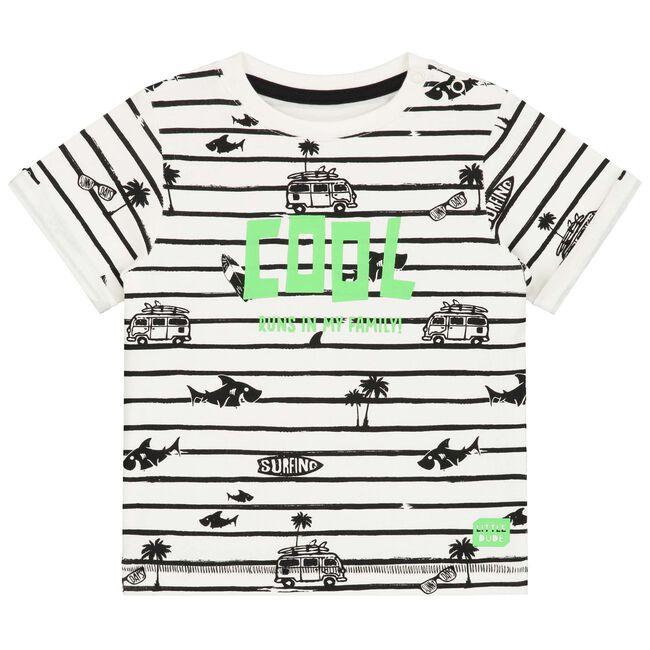 Prénatal peuter jongens t-shirt - Ivoor Wit