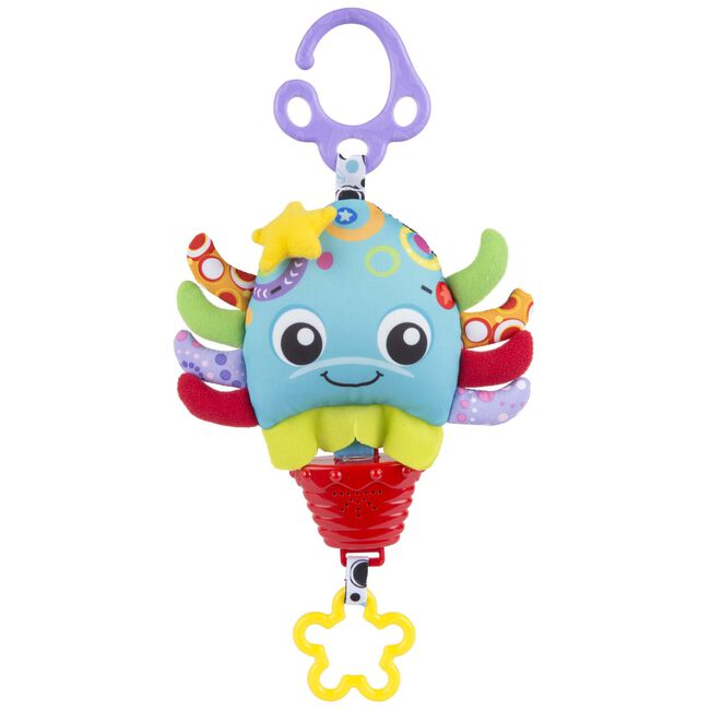 Playgro musical pull string octopus - Multi