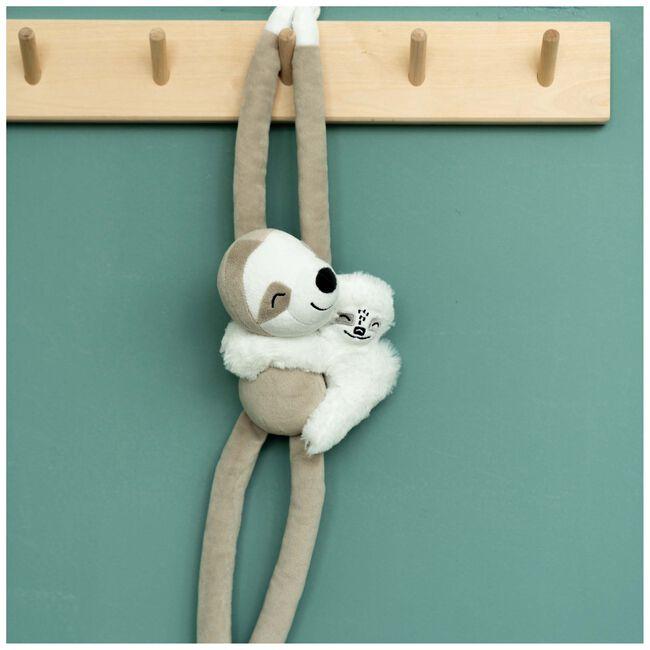 Prénatal knuffel luiaard - White