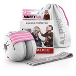 Alpine Muffy Baby gehoorbeschermers roze - Pink
