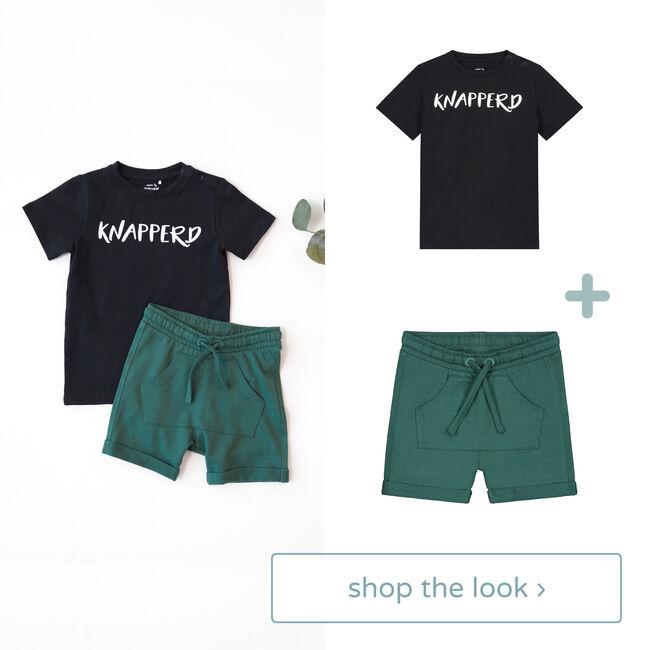 Shop the look - T-shirt & short -