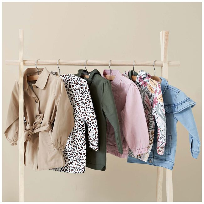 Prénatal baby meisjes zomerjas - Beigebrown