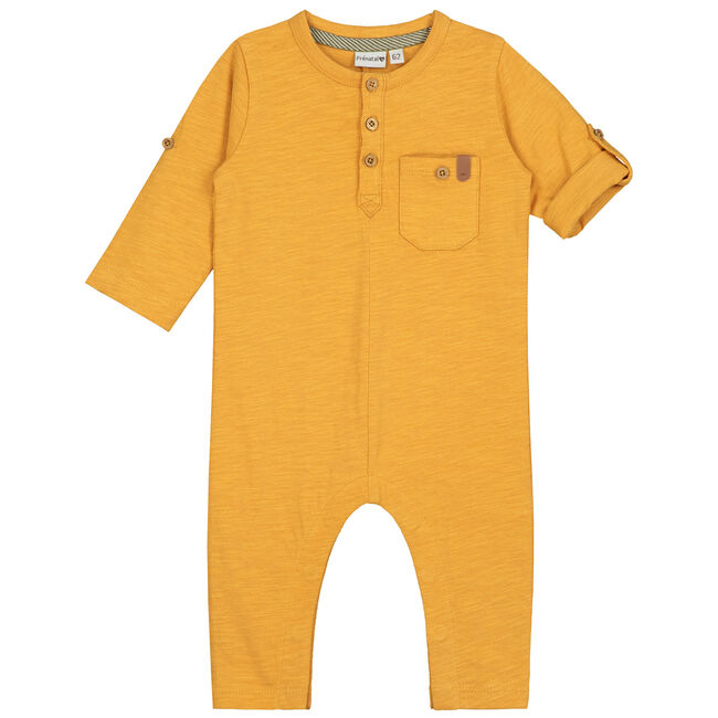 Prenatal baby jongens ééndelig pak - Dark Yellowshade