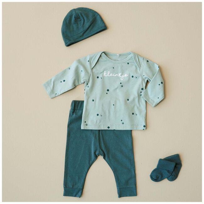Prénatal newborn broek - Aqua