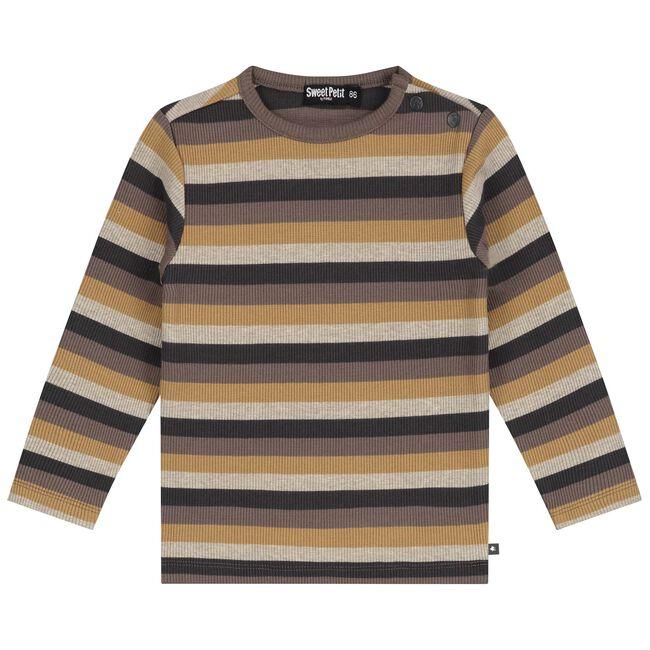 Sweet Petit baby jongens t-shirt Sepp - Multi