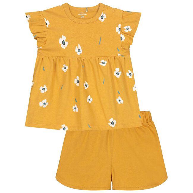 Prenatal peuter meisjes pyjama - Darkyellow