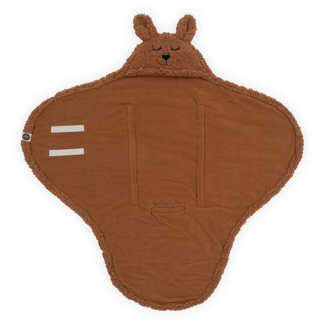 Jollein wikkeldeken Bunny - Brown